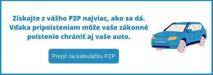 Banner pripoistenia k PZP